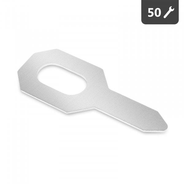 Anneaux de tirage - 50 pièces