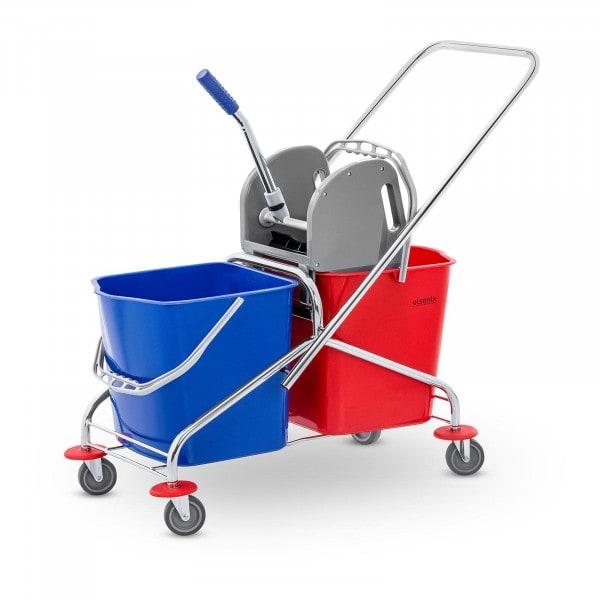Occasion Kit chariot de ménage avec 2 seaux - 48 l