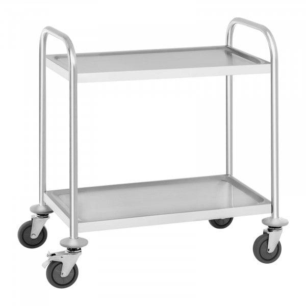 Occasion Chariot de service - 2 étagères - 150 kg max.