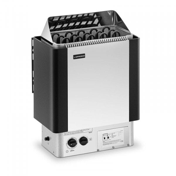 Occasion Poêle pour sauna - 8 kW - 30 à 110 °C - Unité de commande comprise