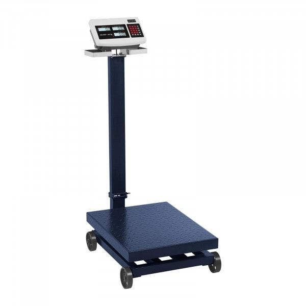 Balance plateforme roulante - 600 kg / 100 g