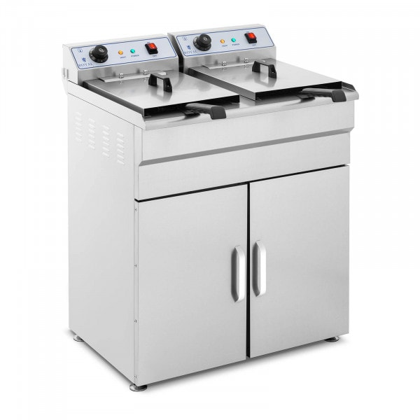 Friteuse sur armoire - 2 x 16 litres - 400 V