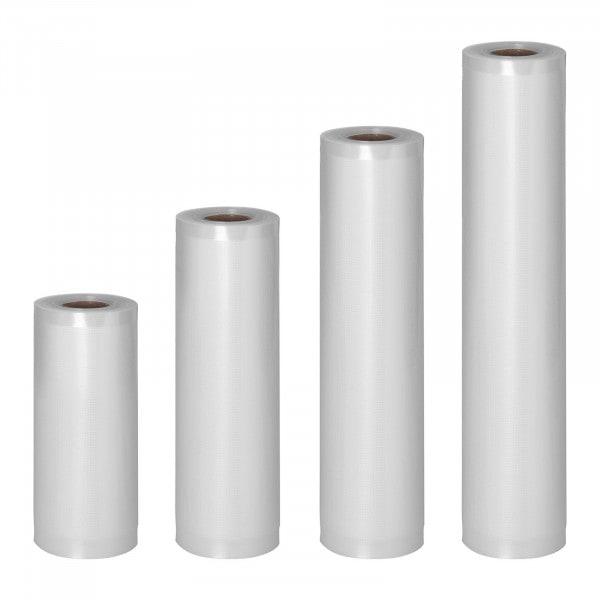 Sac sous vide alimentaire - 4 Rouleaux - 24 m - 15 - 30 cm