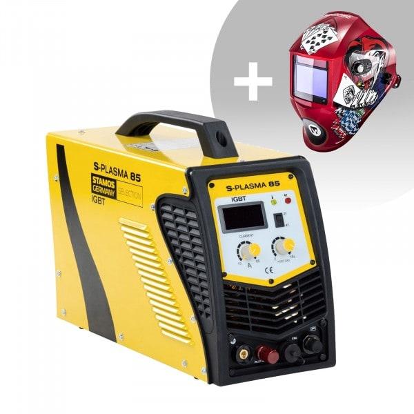 Set d'équipement de soudage Découpeur plasma CNC - 85A - 400V + Masque de soudure – Pokerface – PROFESSIONAL SERIES