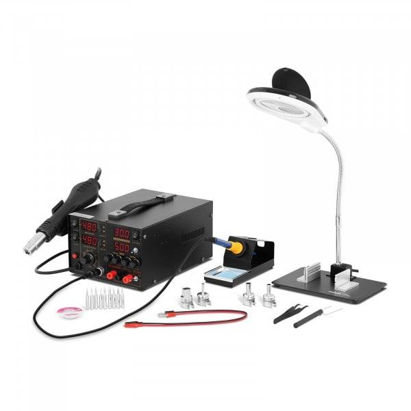 Kit station de soudage avec alimentation intégrée + Accessoires