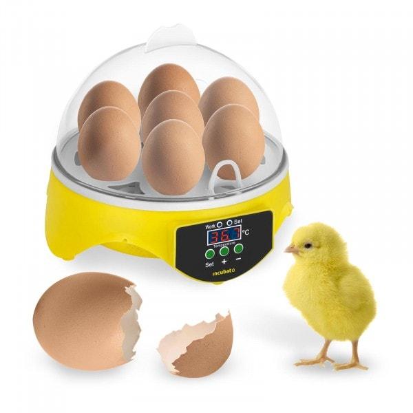 Couveuse à œufs - 7 œufs - Mire-œufs inclus