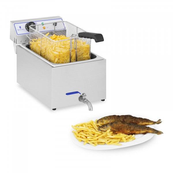 B-WARE Friteuse électrique - 1 x 17 litres - Appropriée pour le poisson