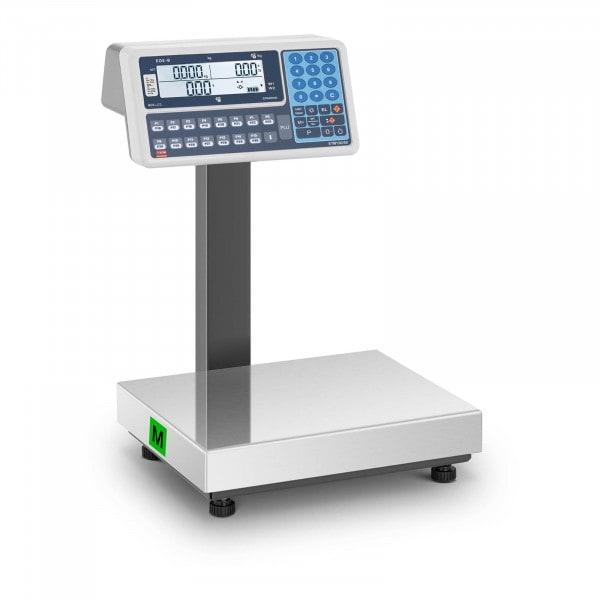 Occasion Balance poids-prix - Calibrage certifié - 30 kg - Écran LCD