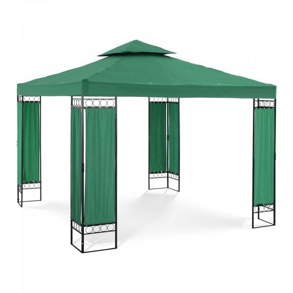 Occasion Pergola vert foncé - 3 x 3 m - 160 g/m²