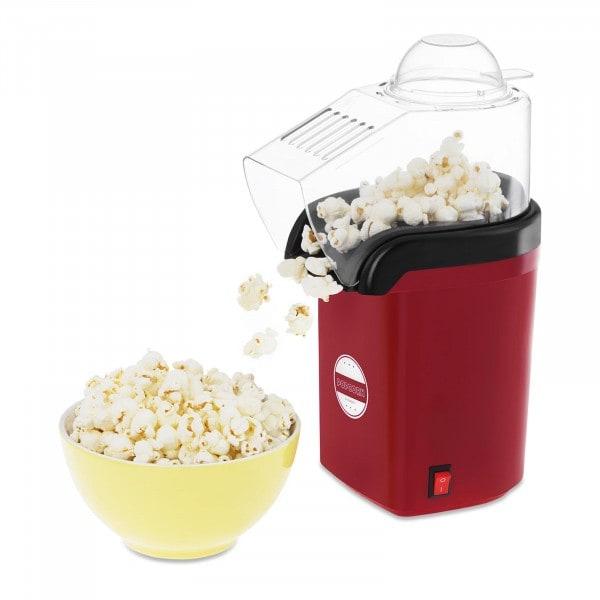 Machine à popcorn à air chaud - Rouge