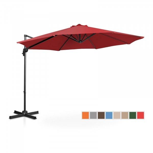 Occasion Parasol de jardin - Bordeaux - Rond - Ø 300 cm - Pivotant