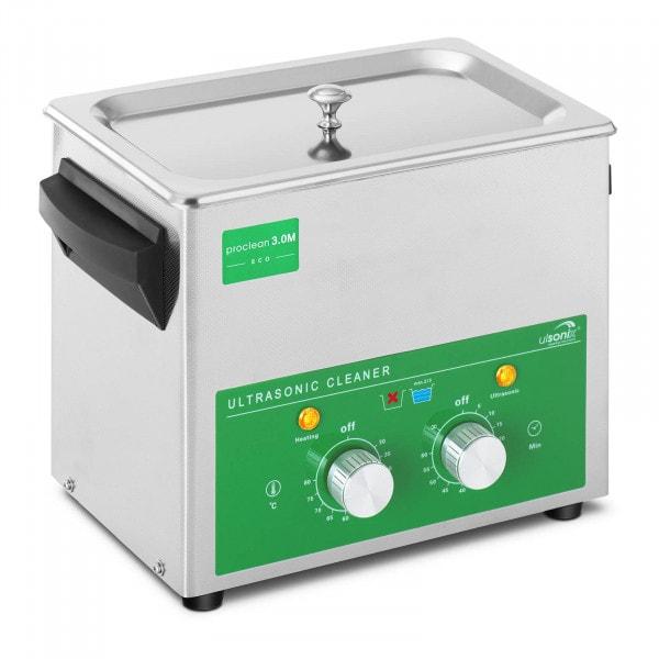 Nettoyeur ultrason - 3 litres - 80 W - Basic Eco