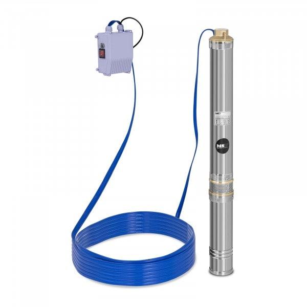 Pompe immergée - 4800 L/h - 750 W - acier inoxydable