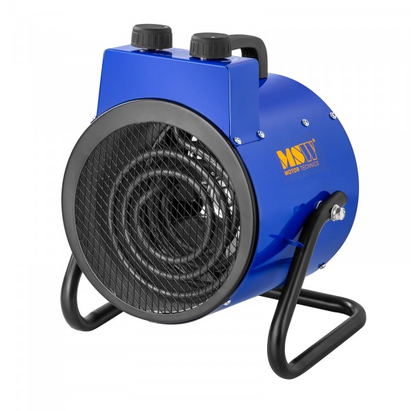 Chauffage à air pulsé électrique avec fonction de refroidissement - 0 à 85 °C - 2 000 W