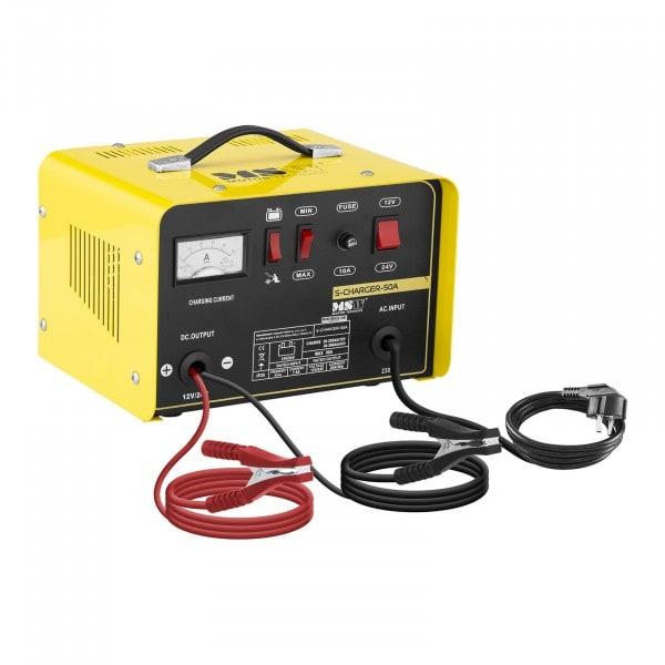 Chargeur de batterie voiture - Aide au démarrage - 12/24 V - 20/30 A