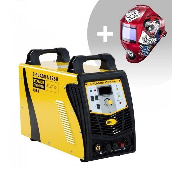 Set d'équipement de soudage Découpeur plasma CNC - 125A - 400V + Masque de soudure – Pokerface – PROFESSIONAL SERIES