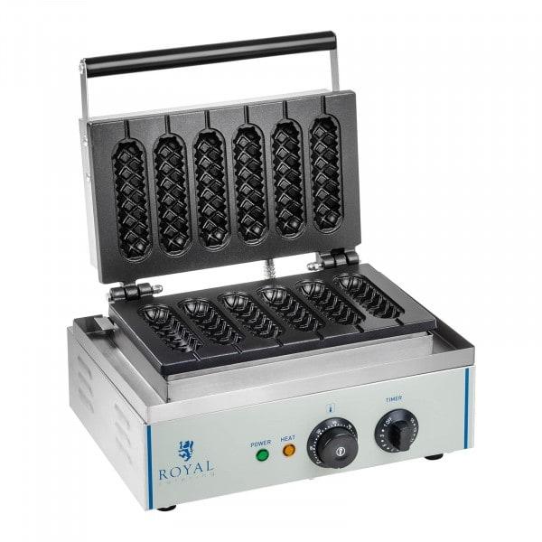 Gaufrier à épi - 1 x 1.500 watts