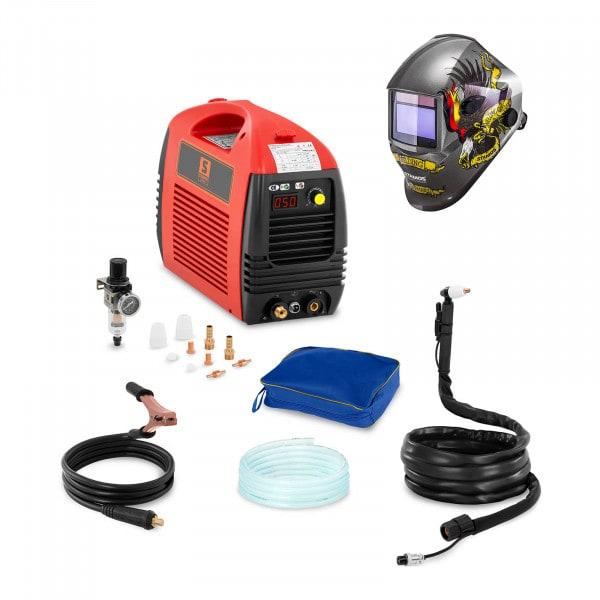 Set d'équipement de soudage Découpeur plasma - 50A - 230V + Masque de soudure – Eagle Eye – ADVANCED SERIES