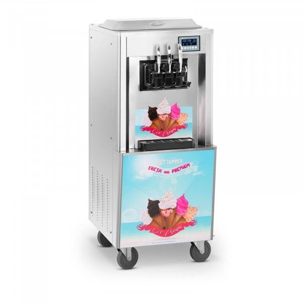 Occasion Machine à glace italienne - 2 700 W - 2 x 8,5 l - 33 l/h