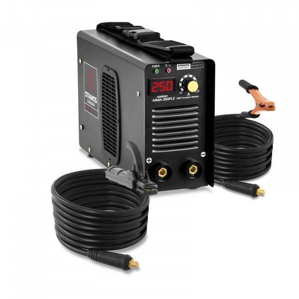 Occasion Poste à souder à l'arc - 250 A - Hot Start - Câbles de 8 m - PRO