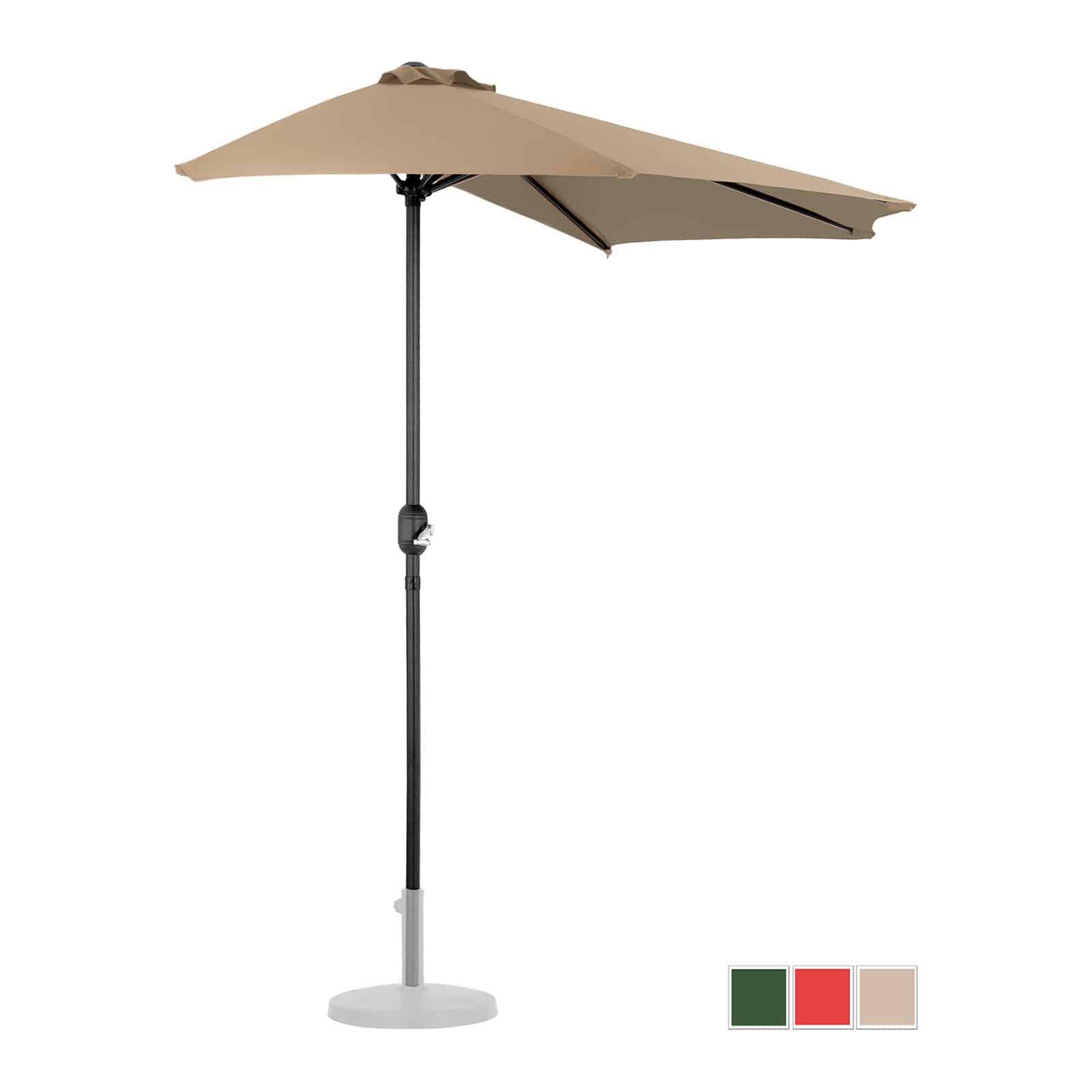 Demi-parasols