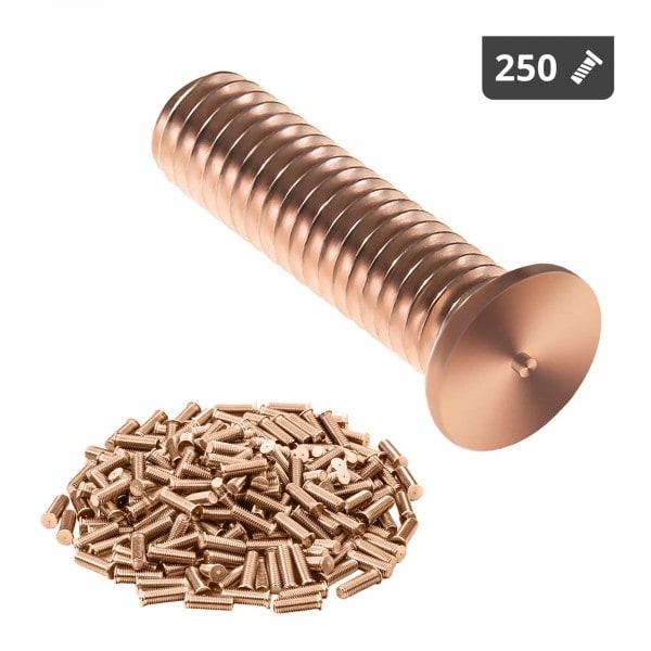 Goujons de soudage - M3 - 12 mm - Acier - 250 pièces