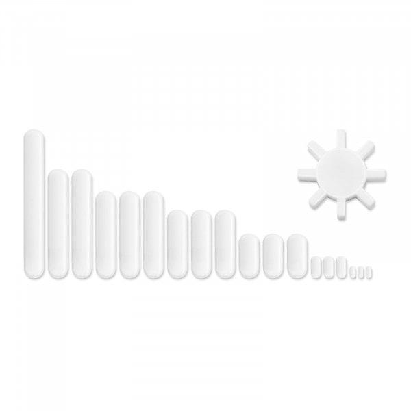 Kit de barres d`agitation magnétiques - 19 pièces