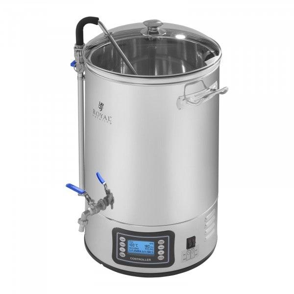 Cuve de brassage - 30 litres - 2 500 watts