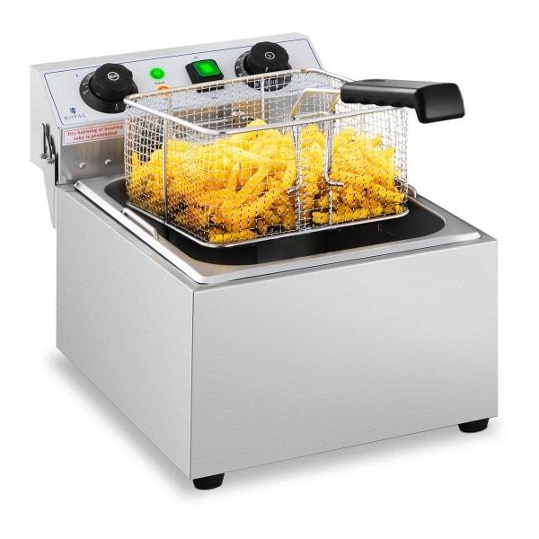 Occasion Friteuse électrique - 1 x 10 litres - Minuterie