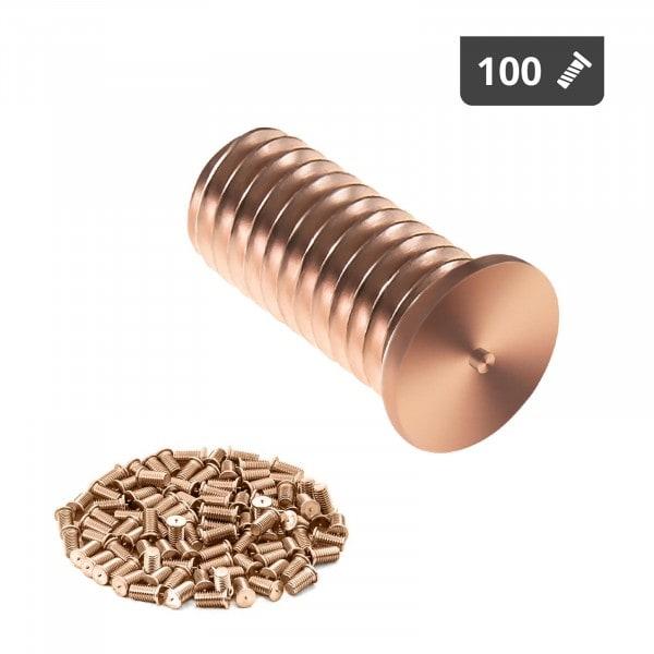 Goujons de soudage - M5 - 12 mm - Acier - 100 pièces