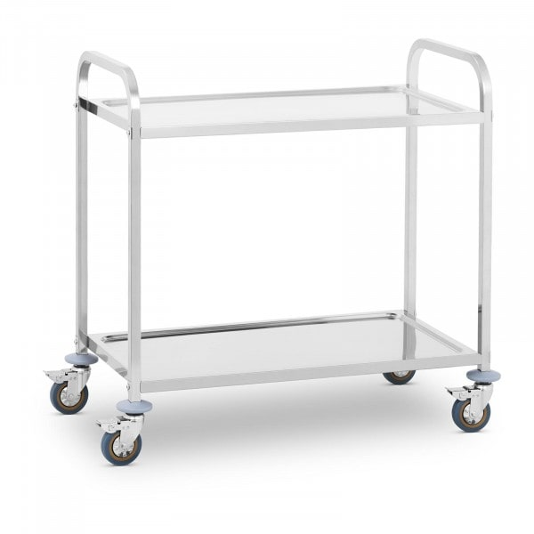 Chariot de service - 2 plateaux - 160 kg