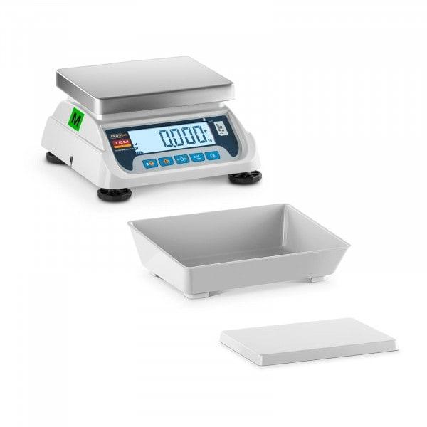 Occasion Balance de table - Calibrage certifié - 3 kg / 1 g - LCD