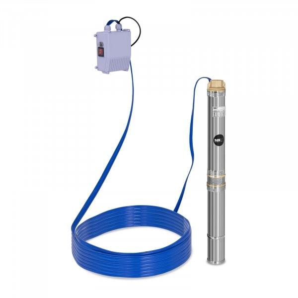 Pompe immergée - 3 800 L/h - 250 W - acier inoxydable