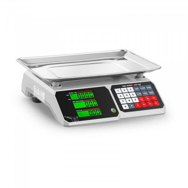 Occasion Balance de contrôle - 30 kg / 1 g - 34,1 x 24,1 cm - LCD