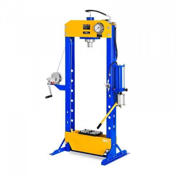 Occasion Presse d'atelier hydropneumatique - 30 tonnes de pression