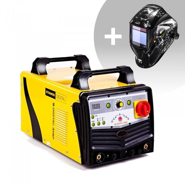 Set d'équipement de soudage Poste à souder aluminium - 315A - 400V - digital + Masque de soudure – Metalator– EXPERT SERIES