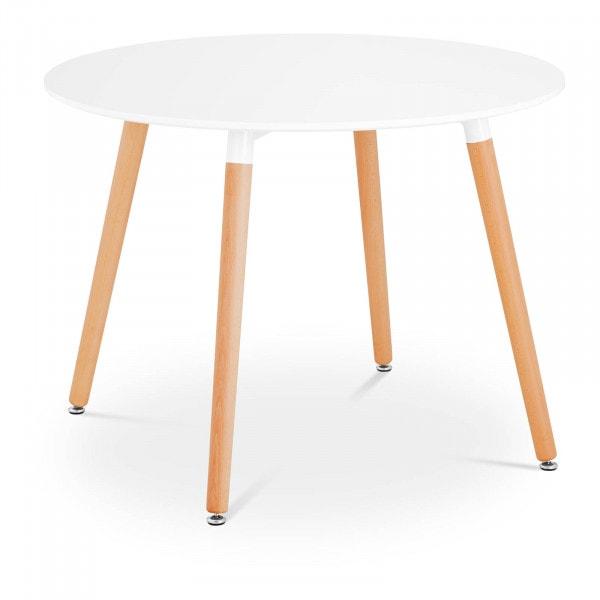 Occasion Table - Plateau rond - Ø 100 cm - Coloris blanc