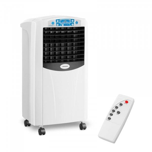 Refroidisseur d'air avec fonction chauffante - 5-en-1 - Réservoir d'eau de 6 litres