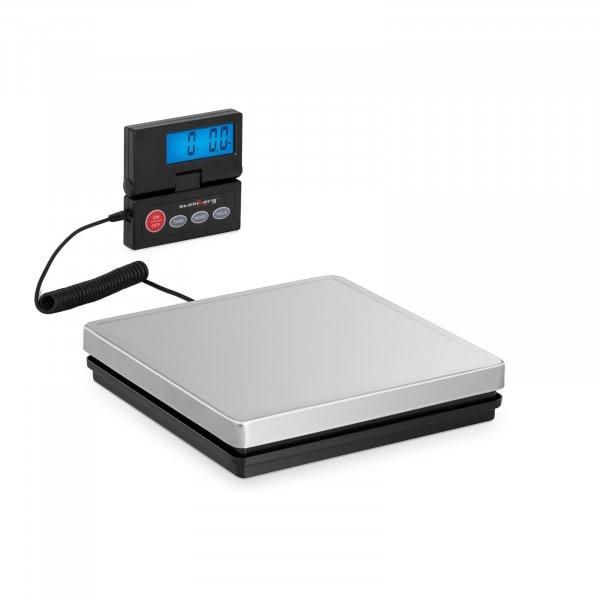 Occasion Pèse-colis numérique - 50 kg / 10 g - 25 x 25 cm - Écran LCD externe