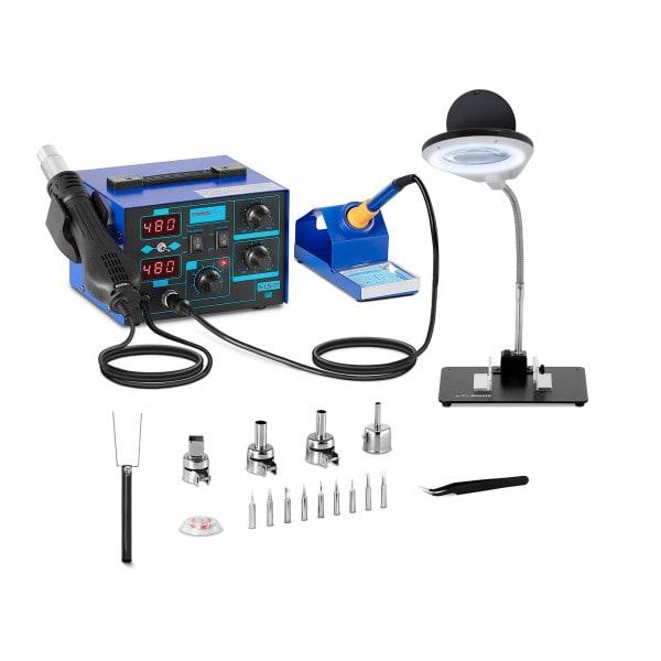 Kit station de soudage - 2 écrans - 730 watts