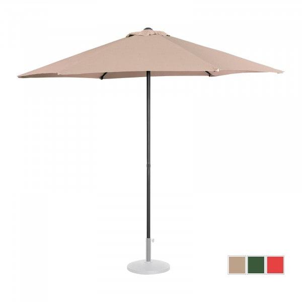 Occasion Parasol de terrasse - Crème - Hexagonal - Ø 270 cm