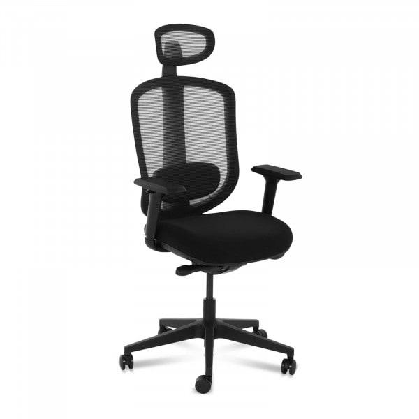 Occasion Chaise de bureau - Dossier en filet - Appui-tête et support lombaire - 150 kg