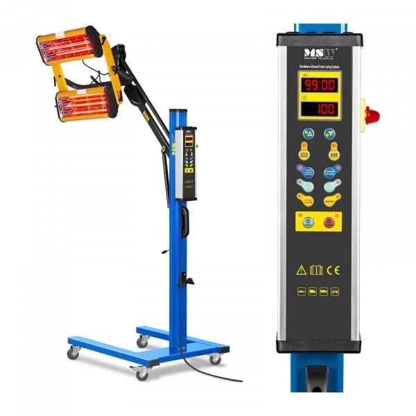La lampe infrarouge carrosserie - 2200 W - de deux émetteurs