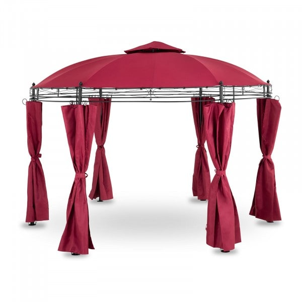 Occasion Pergola rouge vin - 3,5 m - 180 g/m²