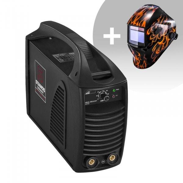 Set d'équipement de soudage Poste à souder à l'arc - 250A - Hot Start - IGBT + Masque de soudure –Firestarter 500 – ADVANCED SERIES
