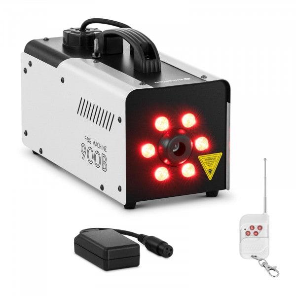Occasion Machine à fumée - 900 W - 141,6 m³ - 6 LED x 3 W - Connecteur DMX