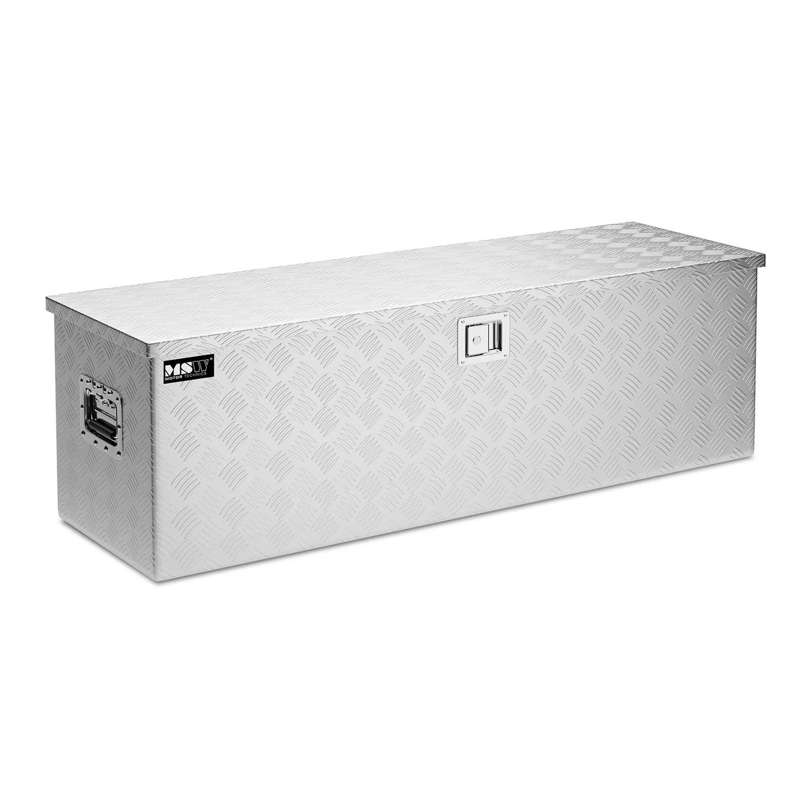 Coffres de rangement aluminium