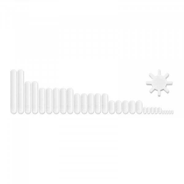Kit de barres d'agitation magnétiques - 30 pièces