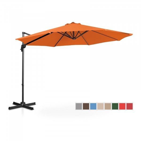 Occasion Parasol de jardin - Orange - Rond - Ø 300 cm - Pivotant