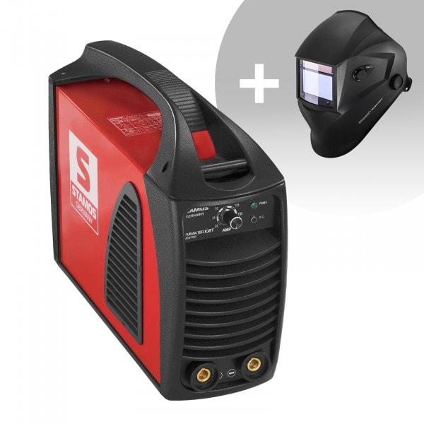 Set d'équipement de soudage Poste à souder à l'arc - 180A - Hot Start - IGBT + Masque de soudure – Blaster – ADVANCED SERIES